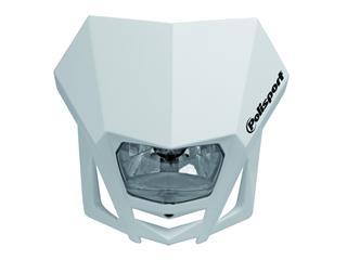 Plaque phare POLISPORT LMX blanc - PS025W03