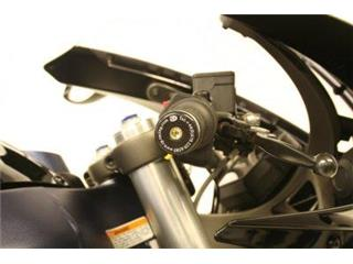 R&G RACING Bar Ends Black Buell 1125R
