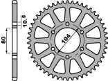 Couronne PBR 46 dents acier standard pas 520 type 478 - 47000011