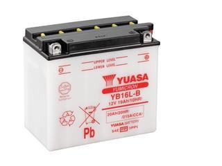 Batterie YUASA YB16L-B conventionnelle - 32YB16LB
