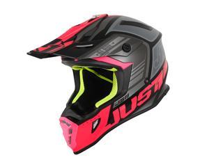 JUST1 J38 Helmet Blade Fluo Fuxia/Black Matt Size M