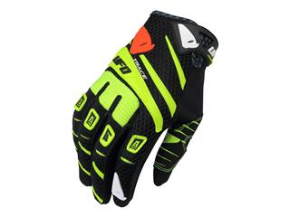 UFO Trace Gloves Black/Yellow Size 8