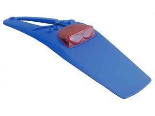 Extension de garde-boue arrière RACETECH bleu à LED cabochon rouge TM - 780535