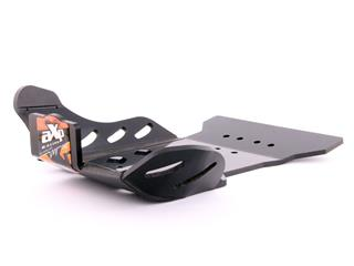 AXP GP HDPE Skid Plate Black/Orange Sticker KTM SX250