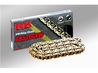 RK GXW Kedja 525 118-Länkar guld/Svart