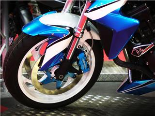 BERINGER Aerotec® Left Radial Brake Caliper 4 Pistons Ø32mm Spacing 108mm Blue - c0b68754-26ef-49be-8105-8a1764d01c89