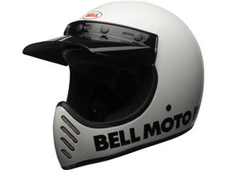 Casque BELL Moto-3 Classic White taille M - 7081047
