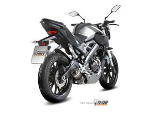 MIVV GP Carbon Full Exhaust System Yamaha MT125