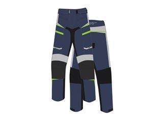 Pantalon RST Maverick CE textile bleu/gris taille EU 3XL femme