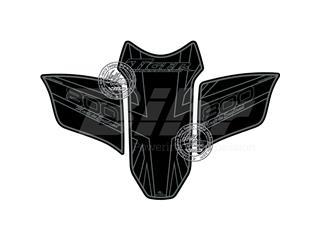 Protector de depósito Motografix Triumph TIGER 800 negro