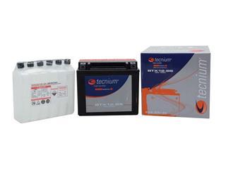 Batterie TECNIUM BTX16-BS sans entretien livrée avec pack acide