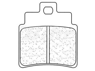 Juego de pastillas sinterizadas CL Brakes (1151ATV1)