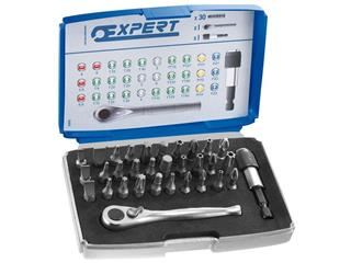 "EXPERT 1/4"" bits set - 30 pieces - 892729"