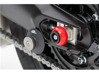 LSL rear crash ball kit Red Yamaha MT-09
