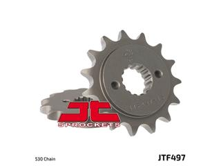 Pignon JT SPROCKETS 15 dents acier standard pas 530 type 497 - 46049715