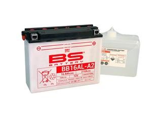 Batterie BS BATTERY BB16AL-A2 haute performance livrée avec pack acide - 321280