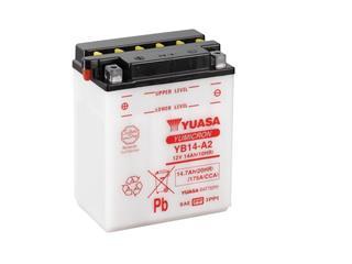 Batterie YUASA YB14-A2 conventionnelle - 32YB14A2