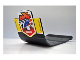 AXP Anaheim HDPE MX Glide Plate Black/Yellow Sticker Suzuki RM-Z450