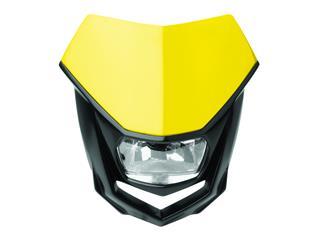 Plaque phare POLISPORT Halo jaune/noir - PS025Y02