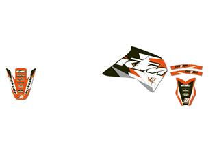 Kit déco BLACKBIRD Dream Graphic 3 KTM 4T Supercomp - 78177137