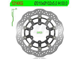 Disco de freno flotante con nucleo de aluminio NG 1214XG Ø310 x Ø102 x 5 - 9621214XG