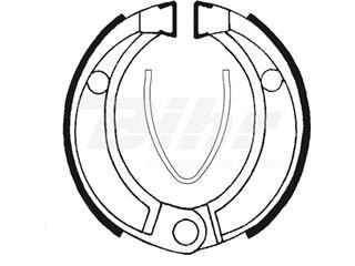 Zapatas de freno Tecnium BA043 - 390430