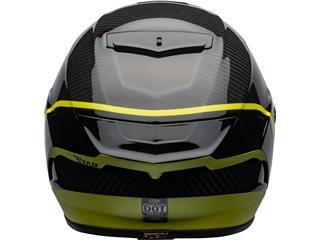 BELL Race Star Flex DLX Helmet Velocity Matte/Gloss Black/Hi Viz Size L - c518dfba-d925-4195-b628-a40465102554