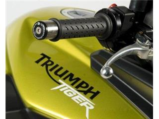 R&G RACING Bar Ends Black Triumph Tiger 800