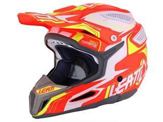 LEATT GPX 5.5 Helmet Composite Orange/Yellow/White Size S