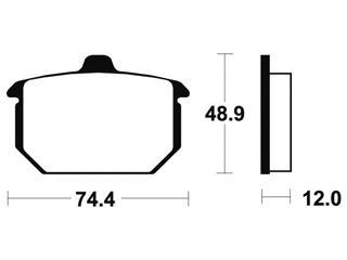 TECNIUM Brake Pads MA49 Organic - c607d12b-fdc0-4045-b52a-a89a90c82a75