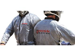 Risk Racing Rain Jacket Translucent size L