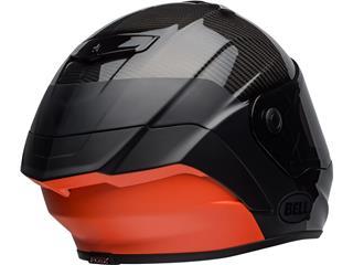 BELL Race Star Flex DLX Helmet Carbon Lux Matte/Gloss Black/Orange Size L - c666d5f3-de99-46c0-964a-cdb0bf1fdbbb