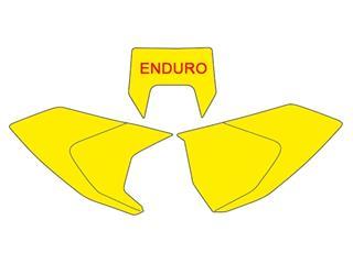 Fonds de plaque BLACKBIRD jaune Husqvarna TE/FE - c69721db-f1e7-4e93-81bf-29b9cae6e660