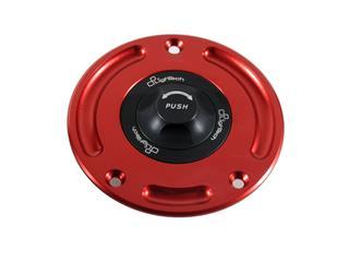 Bouchon de réservoir LIGHTECH noir/rouge 1/4 tour Suzuki GSR750