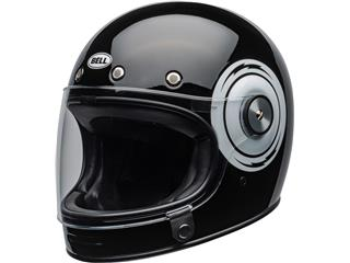 BELL Bullitt DLX Helmet Bolt Gloss Black/White Size L