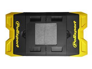 POLISPORT yellow/black Foldable Bike Mat  - c7a54778-c347-4f86-adf7-a168a3ecf2fd