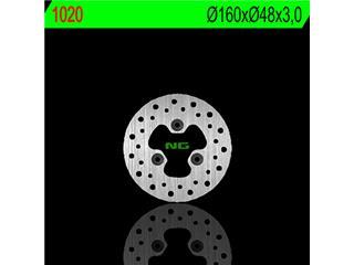 Disque de frein NG 1020 rond fixe - 3501020