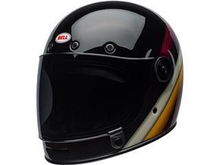 Casque BELL Bullitt DLX Burnout Gloss Black/White/Maroon taille S