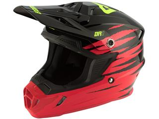 Casque ANSWER AR1 Pro Glow Red/Black/Hyper Acid taille S - 801000430168