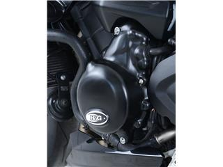R&G RACING Left Crankcase Cover Black Triumph