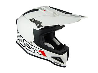 JUST1 J12 Helmet Solid White Size S - JU001013