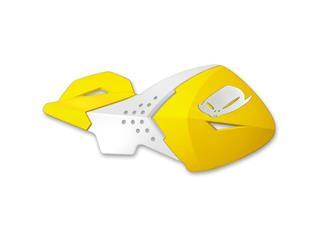 Protège-mains UFO Escalade jaune/blanc