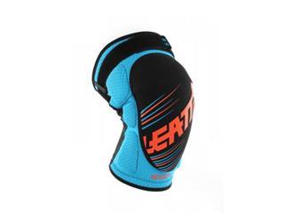 LEATT 3DF 5.0 Knee Guard Blue/Orange Size Junior