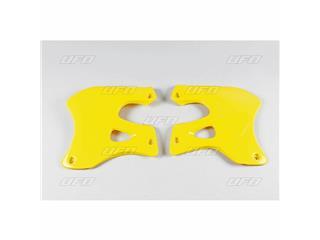 Ouïes de radiateur UFO jaune Suzuki RM125/250 - 78332663