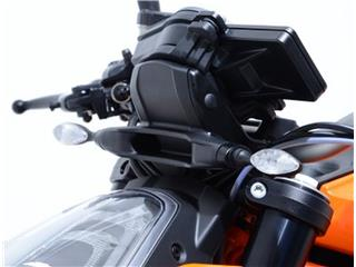 R&G RACING Front Indicator Adapters Black KTM 790/1290
