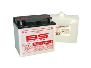 Batterie BS BATTERY B60-N24AL-B haute performance livrée avec pack acide - 321039
