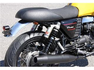 "Rear mudguard in primary aluminium LSL Moto Guzzi V7 18"""