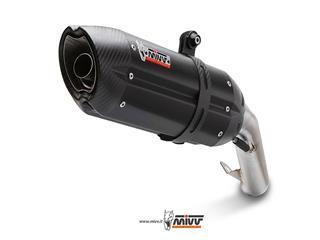 MIVV SUONO Steel Black Double Slip-On Triumph Speed Triple 1050
