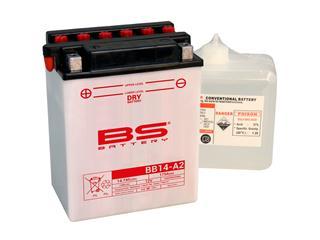 Batterie BS BATTERY BB14-A2 conventionnelle livrée avec pack acide - 321278