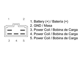 Régulateur TECNIUM type origine Suzuki - ca317af0-a857-4508-8a65-d377d7138a53